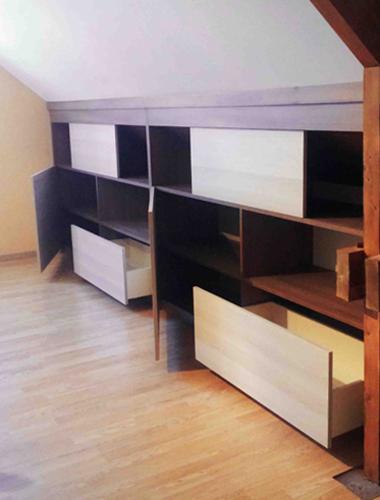 Miot nobis ebenisterie alencon biblioth que bureau for Meuble bureau 974
