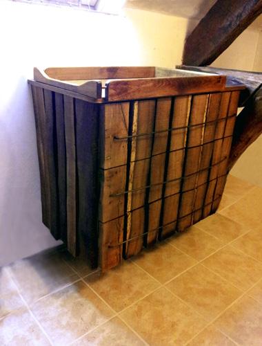 Miot nobis ebenisterie alencon meuble de salle de for Creation meuble salle de bain