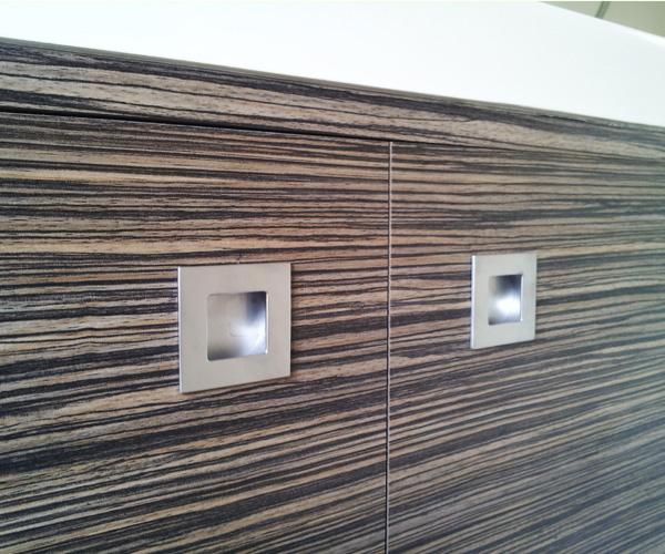ONE PACK Vasque + Meuble Zebrano 60cm + Miroir  Achat / Vente salle de bain